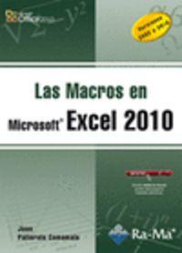 MACROS EN MICROSOFT EXCEL 2010 - VERSIONES 2003 A 2010