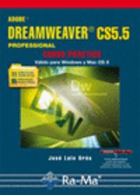 ADOBE DREAMWEVER CS5.5 PROFESSIONAL - CURSO PRACTICO (WINDOWS - MAC)