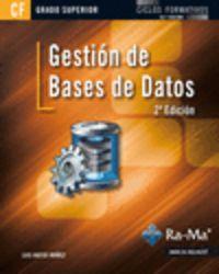 GS - GESTION DE BASES DE DATOS (2ª ED)