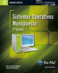 GM - SISTEMAS OPERATIVOS MONOPUESTO (2ª ED)