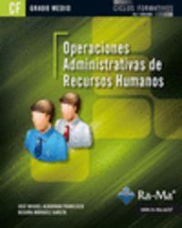 Gm - Operaciones Administrativas De Recursos Humanos - Jose M. Albarran Francisco