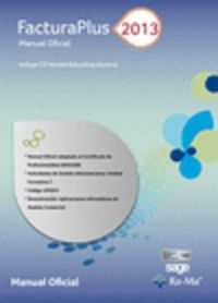 Facturaplus 2013 - Manual Oficial - Aa. Vv.