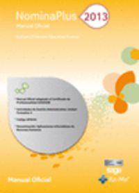 Nominaplus 2013 - Manual Oficial - Aa. Vv.