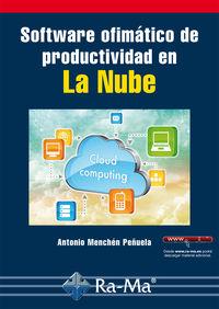 SOFTWARE OFIMATICO DE PRODUCTIVIDAD EN LA NUBE