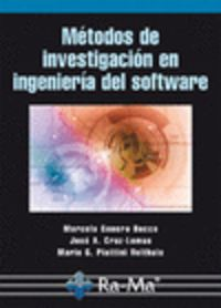 METODOS DE INVESTIGACION EN INGENIERIA DEL SOFTWARE