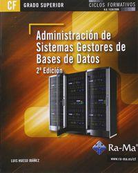 GS - ADMINISTRACION DE SISTEMAS GESTORES DE BASES DE DATOS