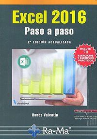 (2 Ed) Excel 2016 - Paso A Paso - Handz Valentin