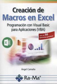 Creacion De Macros En Excel - Angel Camauo