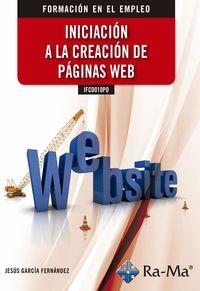 AIFCD010PO INICIACION A LA CREACION DE PAGINAS WEB