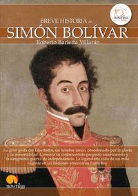 Breve Historia De Simon Bolivar - Roberto Barletta Villaran