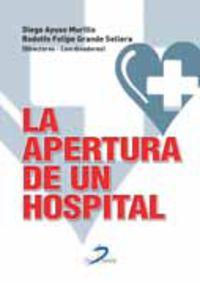 La apertura de un hospital - Diego Ayuso Murillo