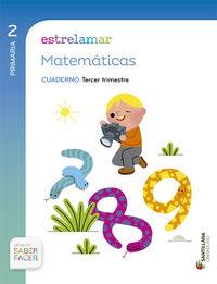 Ep 2 - Matematicas Estrelamar Cad Trim. 3 - Saber Facer (gal) - Aa. Vv.