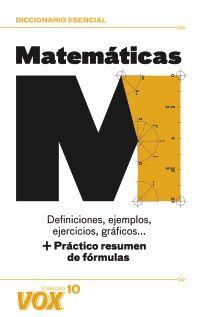 Dicc. Esencial De Matematicas - Aa. Vv.