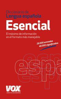 DICCIONARIO ESENCIAL DE LA LENGUA