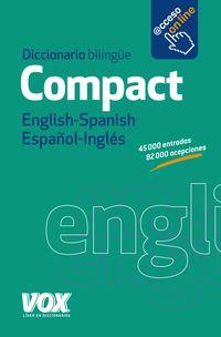 Diccionario Compact English / Spanish - Español / Ingles - Aa. Vv.