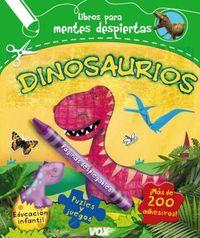 Dinosaurios - Larousse - Aa. Vv.  /  Jessica   Bradley (il. )  /  Viviana   Garofoli (il. )