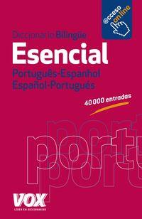 Dicc. Esencial Por / Esp - Esp / Por - Aa. Vv.