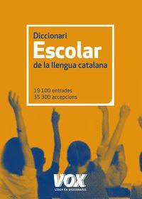 Dicc. Escolar De La Llengua Catalana - Aa. Vv.