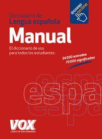 Diccionario Manual De La Lengua Española - Aa. Vv.