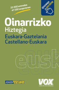 Oinarrizko Hiztegia Euskara / Gaztelania - Castellano / Euskara - Batzuk