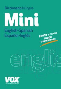 DICCIONARIO MINI ENGLISH / SPANISH - ESPAÑOL / INGLES