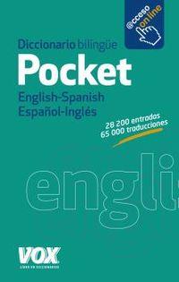 Diccionario Pocket English / Spanish - Español / Ingles - Aa. Vv.