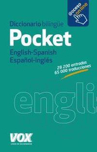 diccionario pocket english / spanish - español / ingles - Aa. Vv.