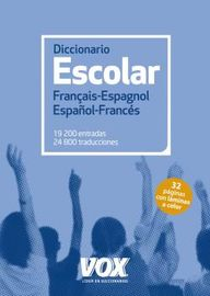 Diccionario Escolar Français / Espagnol - Español / Frances - Aa. Vv.