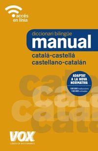 DICCIONARI MANUAL CAT / CAST = CAST / CAT