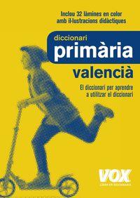 (3 ED) DICC. PRIMARIA VALENCIA