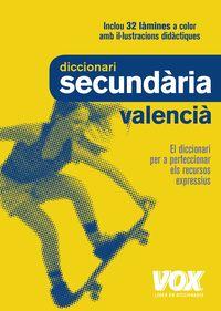 DICCIONARI SECUNDARIA VALENCIA