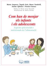 COM HAN DE MENJAR ELS INFANTS I ELS ADOLESCENTS - ASPECTES