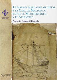 Marina Mercante Medieval Y La Casa De Mallorca, La - Entre El Mediterraneo Y El Atlantico - Aa. Vv.