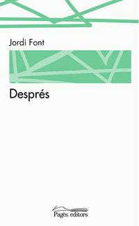 Despres - Jordi Font Cardona