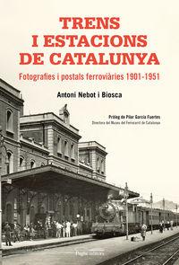TRENS I ESTACIONS DE CATALUNYA - FOTOGRAFIES I POSTALS FERROVIARIES (1901-19) 51