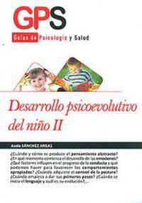 DESARROLLO PSICOEDUCATIVO DEL NIÑO II