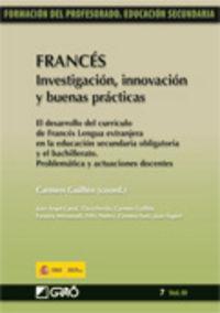 Frances - Investigacion , Innovacion Y Buenas Practicas - German Guillen (coord. )