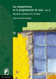 COMPETENCIAS EN LA PROGRAMACION DE AULA (VOL. II) , LAS