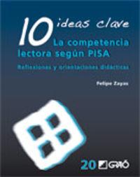 10 IDEAS CLAVE - LA COMPETENCIA LECTORA SEGUN PISA