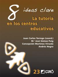 8 Ideas Clave - Tutoria En Los Centros Educativos - Juan Carlos Torrego