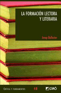 FORMACION LECTORA Y LITERARIA