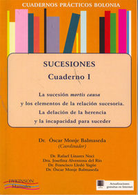 Sucesiones I - Cuad. Practicos Bolonia - Fco.  Lledo Yague (ed. )