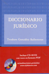 Dicc. Juridico - Teodoro Gonzalez Ballesteros