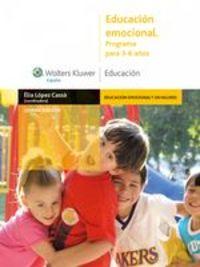 Educación Emocional. Programa Para 3-6 Años - Èlia López Cassá