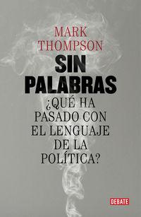 Sin Palabras - Mark Thompson