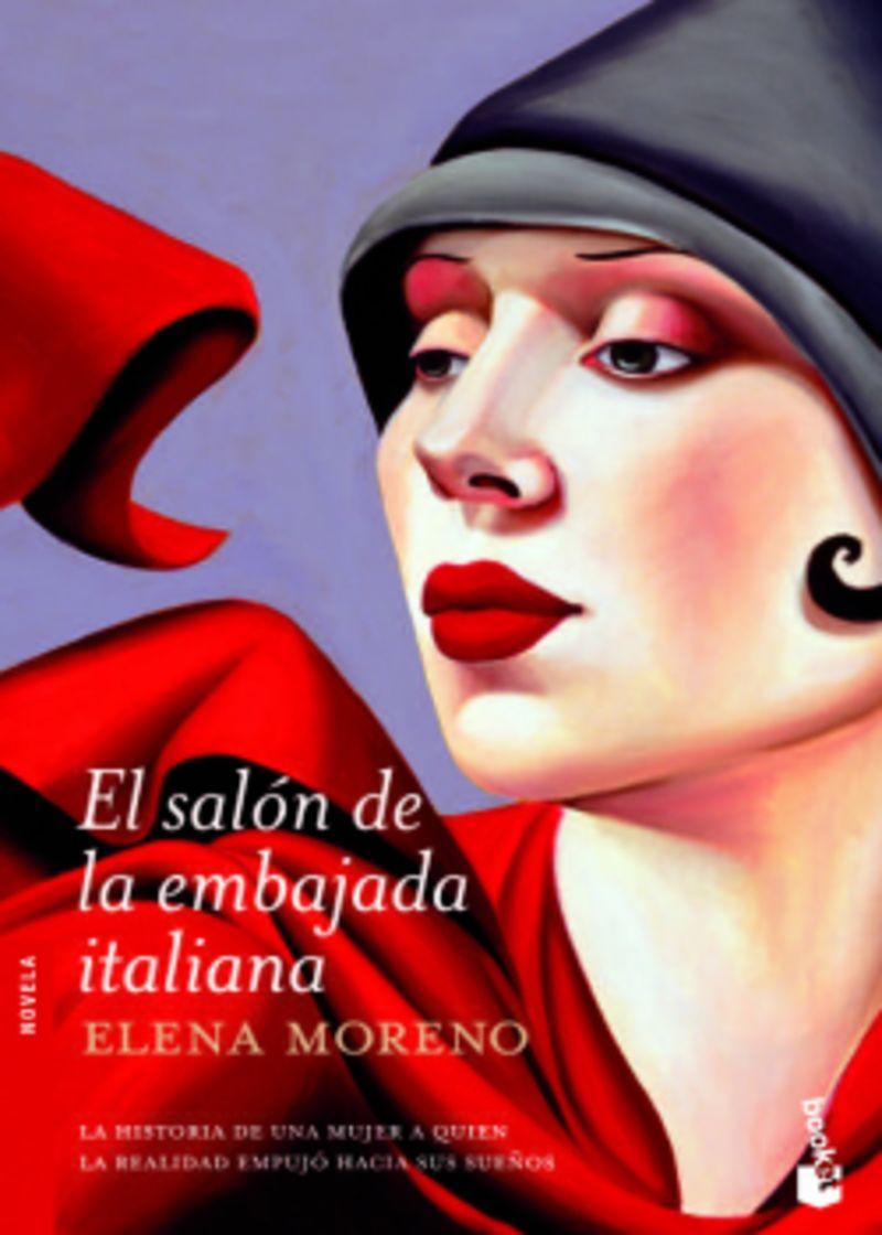 El salon de la embajada italiana - Elena Moreno