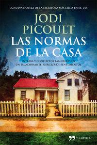 Las normas de la casa - Jodi Picoult