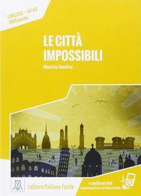 Citta Impossibili, Le (+mp3 Online) - Aa. Vv.