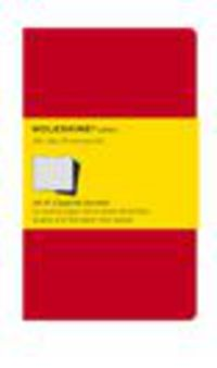 Moleskine Pack 3 Cuadernos Cahier Ch112en Rojas -