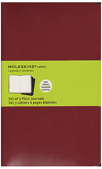 Moleskine Set 3 Cuadernos Cahier Cc118en Large -